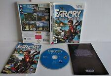 FarCry Vengeance - Jeu WII / WII U - PAL français - Complet - Comme neuf