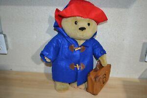 """Paddington Bear 16"""" Plush Yottoy w/ PB Suitcase/Luggage"""