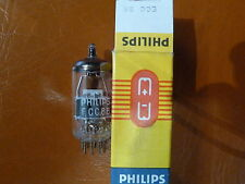ECC88 philips Heerlen 6DJ8 NOS NIB AUDIO Tube Valvola Valvula Valve TESTED
