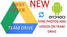 Google Team Drive Sync Photos and Videos Tool for Android - Sync Google Team