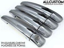 ENJOLIVEURS CHROME CACHES POIGNEES PORTES pour PEUGEOT EXPERT 2 TEPEE 2007-2013