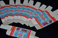 100 pcs TELEFUNKEN Blank Tube Boxes for Audio tubes ECC83 E88CC E188CC ECC803S