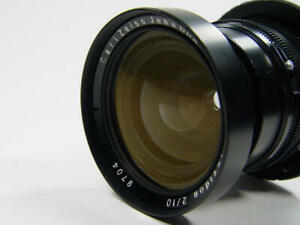 NEW Carl Zeiss Jena Tevidon 10mm f/2 Sony NEX E-mount adapted. s/n 9704