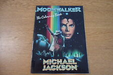 MICHAEL JACKSON ORIGINAL MOONWALKER COLORING BOOK MINT RARE 1989