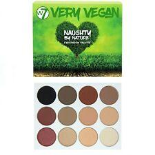 W7 molto Vegano Naughty by Nature Palette Ombretto - Marrone Bordeaux Nudo Nero