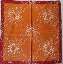 -Superbe Foulard  FOLLI FOLLIE  100% soie  TBEG vintage scarf