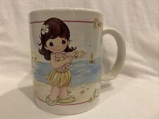 Precious Moments 2003 A Hula-Ta Fun! Hawaiian Mug Hawaii