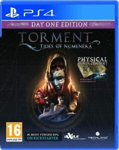 Torment Tides Of Numenera Day 1 Edition (PS4) Mint Same Day Dispatch