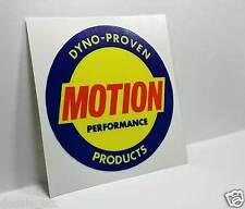 BALDWIN MOTION PERFORMANCE Vintage Style DECAL, Vinyl STICKER, rat rod, racing