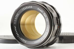 [CLA'd MINT] ''8 Element'' Super Takumar 50mm f1.4 Pentax M42 MF Lens From JAPAN