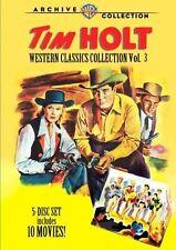 TIM HOLT WESTERN CLASSICS 3 (5PC) - (1952) Region Free DVD - Sealed