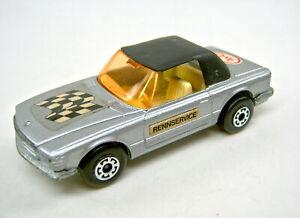 "Matchbox Superfast No.6B Mercedes 350 german promo ""AvD"" in silver"