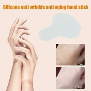 1/2Pcs Silicone Anti Wrinkle Hands Pad Reusable Patches Lift Up Skin