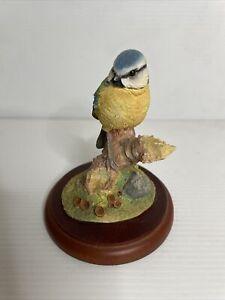 Border Fine Arts Birds By Russell Willis Figurine - Bluetit - 484296 CRW 1998