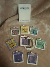 1999 Amazing Ally Talking Interactive Doll Cartridges & Instruction Lot Of 8
