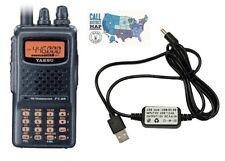 Yaesu FT-60R Dual Band 5W FM HT Radio with Yaesu Compatible USB Charging Cable