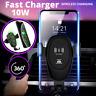 Cargador De Carro Rapido Inalambrico Para Samsung Galaxy S10 S9 S8 Iphone X 8