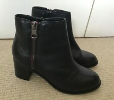 Lotus Women's Ankle Boots, Black Leather, Size 7, SUPERB CONDITION