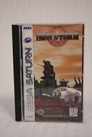 Iron Storm - Complete Authentic Sega Saturn Game