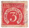 (I.B) Transvaal Railways : CSAR Parcel Stamp 3d