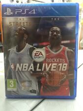 Nba Live 18 PS4 NUOVO SIGILLATO