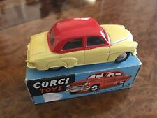 Vintage Corgi Toys / MIB / Vauxhall Velox Saloon / Ultra Rare 2 Tone / No. 203