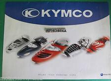 KYMCO  SCOOTER 2003 POSTER  DEPLIANT BROCHURE  PUBBLICITA PROSPEKT RECLAME