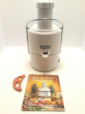 Jack Lalanne's Power Juicer Extractor Cl-003Ap