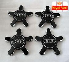 4x Audi Roue Alliage insignes Centre Star Caps 135 mm 4F0601165N A3 A4 A5 A6 A7 A8