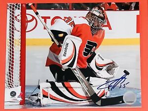 SERGEI BOBROVSKY AUTHENTIC SIGNED AUTO ORIGINAL 8 x 10 NHL PHOTO COA FLYERS