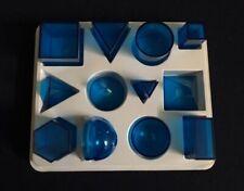 Power Solids 3-D Math Educational Manipulatives - Teachers/Homeschoolers/Tu tors