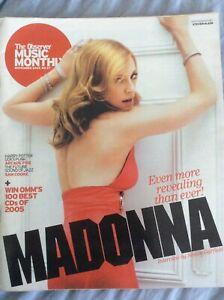 Observer Music Monthly #27 November 2005 Madonna