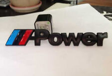 New 3D metal M-Power emblem M badge sticker car rear trunk decal for M3 M4 M5 M6