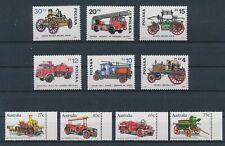 LM40830 World old fire engine cars fine lot MNH