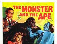 THE MONSTER AND THE APE, 15 CHAPTER SERIAL, 1945