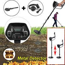 Metal Detector Gold Digger Hunter Waterproof Deep Sensitive+Earphone Shovel New