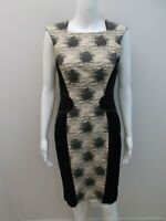 DAVID LAWRENCE ELEGANT PANEL, PENCIL DRESS SIZE 8    (#X1129)
