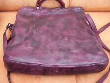 THINK Tasche BAG aus Soft Nappaleder! used look in chianti