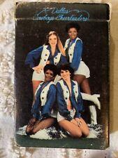 Vintage 1978 Dallas Cowboy Cheerleaders Playing Cards