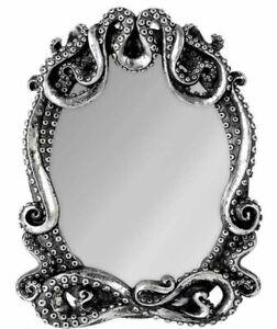 Alchemy England - Kraken Mirror, Steampunk Gothic, Cthulhu, Wall/Freestanding
