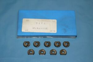 9x DEPO A1083 K03 10 mm Kopierfräser Wendeplatten Vollradius Radius A 10 83