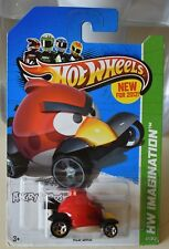 Hot Wheels Angry Birds RED Bird Die-Cast Metal 1:64 Scale Car HW Imagination NEW