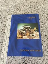 ZEPTER International  Cooking with Zepter - Book of Instructions, Recipes, Italy