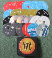 48 Hörbuch Hörspiel CDs + 2 Tasche Krimi Thriller Grusel Hörbücher Hörspiele NEU