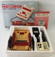 FAMICOM CONSOLE SYSTEM SQUARE BUTTON HVC-001 NINTENDO FAMILY COMPUTER BOXED
