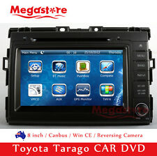 "8"" Car DVD GPS Nav Head Unit Radio Stereo For Toyota Tarago 2006-2016"