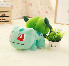 "Plush New Pokemon Bulbasaur STUFFED TOY Doll Figure 12""high large size"