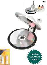Procare CD CD-R CD-RW DVD CDROM Disc Repair Machine fix scratched CD's DVD's
