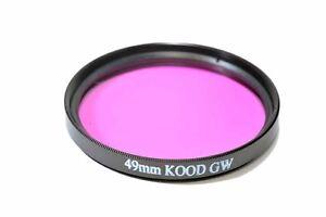 Kood Underwater Filter 49mm Green Water