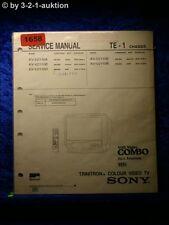 Sony Service Manual KV V2110A /B /D /E /K (#1658)